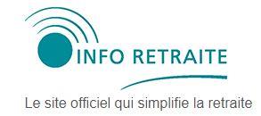 site officiel info-retraite.fr